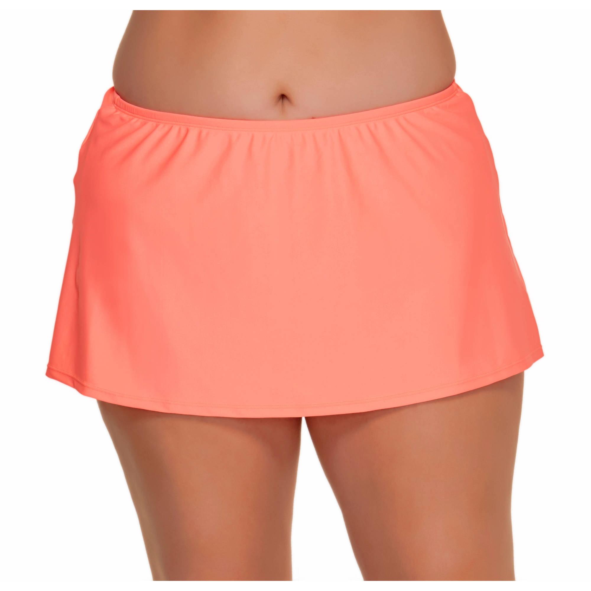 Catalina Women's Plus-Size Skirted Swimsuit Bottom