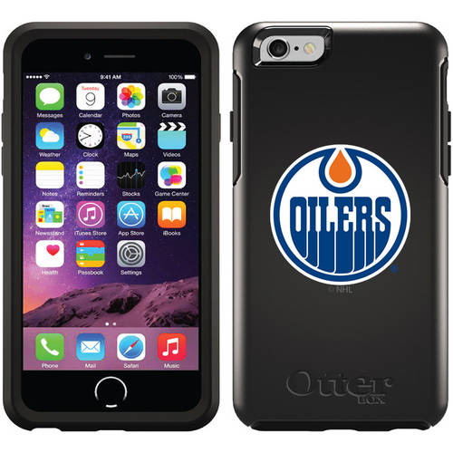 Edmonton Oilers Oilers Circle Design on OtterBox Symmetry Series Case for Apple iPhone 6