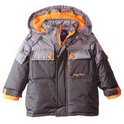 Rugged Bear Baby Boys' Solid Colorblock Ski Jacket