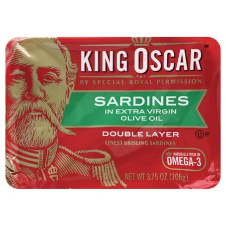 King Oscar Wild Caught Sardines in Olive Oil, 3.75