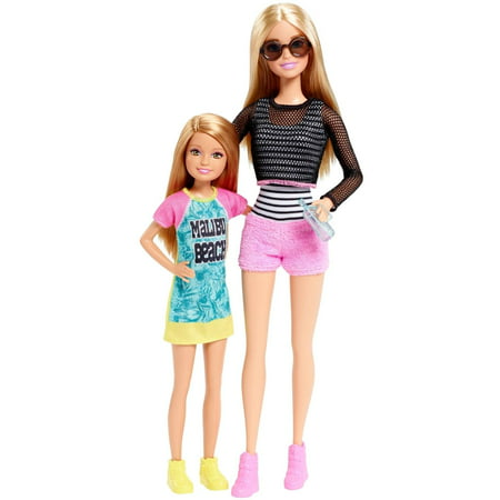 Barbie Sisters Barbie And Stacie Dolls 2 Pack Walmart Com