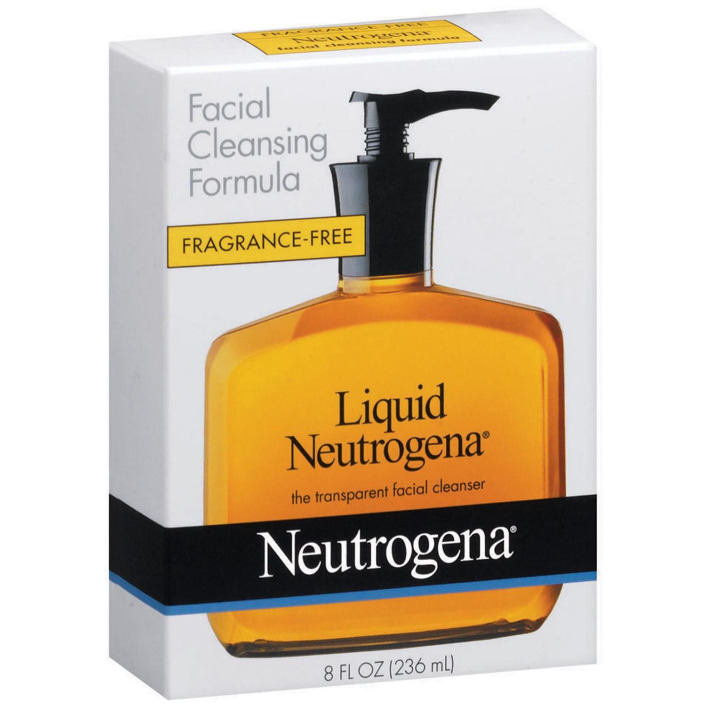 Neutrogena Facial Cleansing Formula, Fragrance Free, 8 Fl Oz - Walmart.com