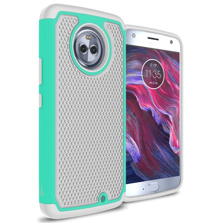 CoverON Motorola Moto X4 (Moto X 4th Gen 2017) Case, HexaGuard Series Hard Phone -