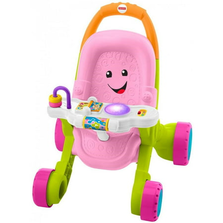 - Fisher-Price Stroll & Learn Walker, Pink