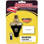 "Longacre 15-50 psi 1/8"" NPT Male Electric Pressure Sender P/N 43000"