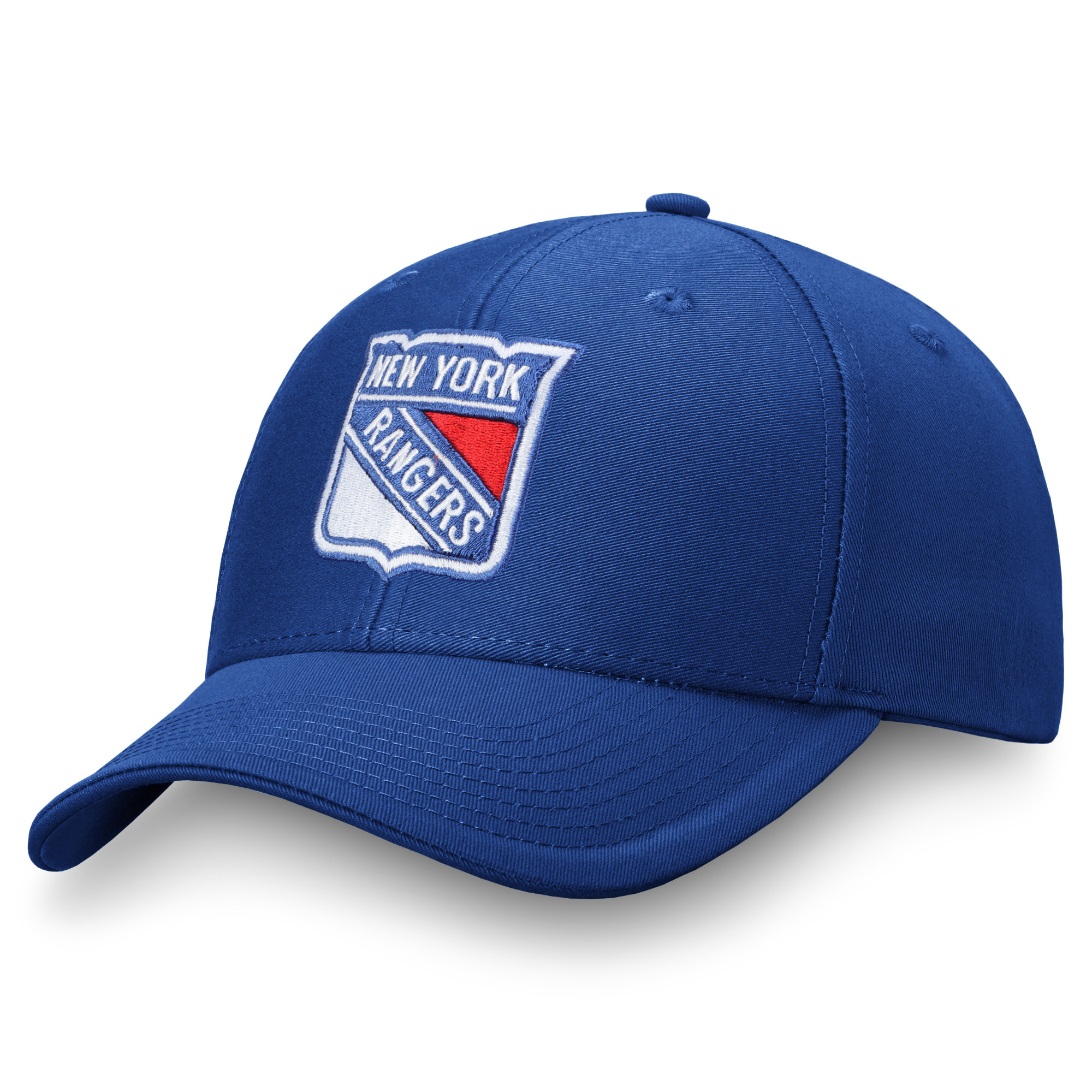 Men's Fanatics Branded Blue New York Rangers Adjustable Hat - OSFA