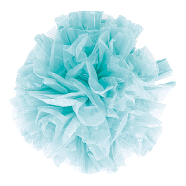 Weddingstar 2333-92 Package of 25 Just Fluff Colored Plastic Pom - Dusty Rose