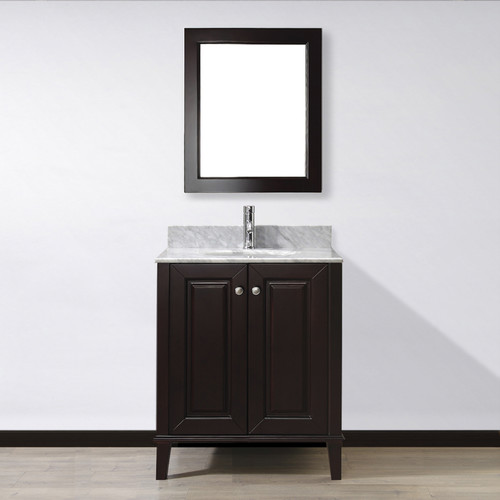 Bauhaus Bath Milly 30'' Single Bathroom Vanity Set with Mirror