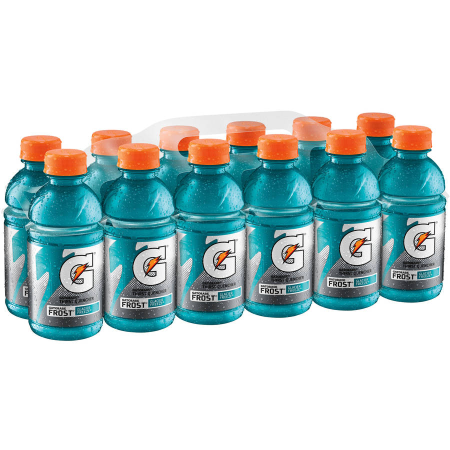 Gatorade G Frost Glacier Freeze Thirst Quencher Sports Drink, 12 fl oz, 12 pack