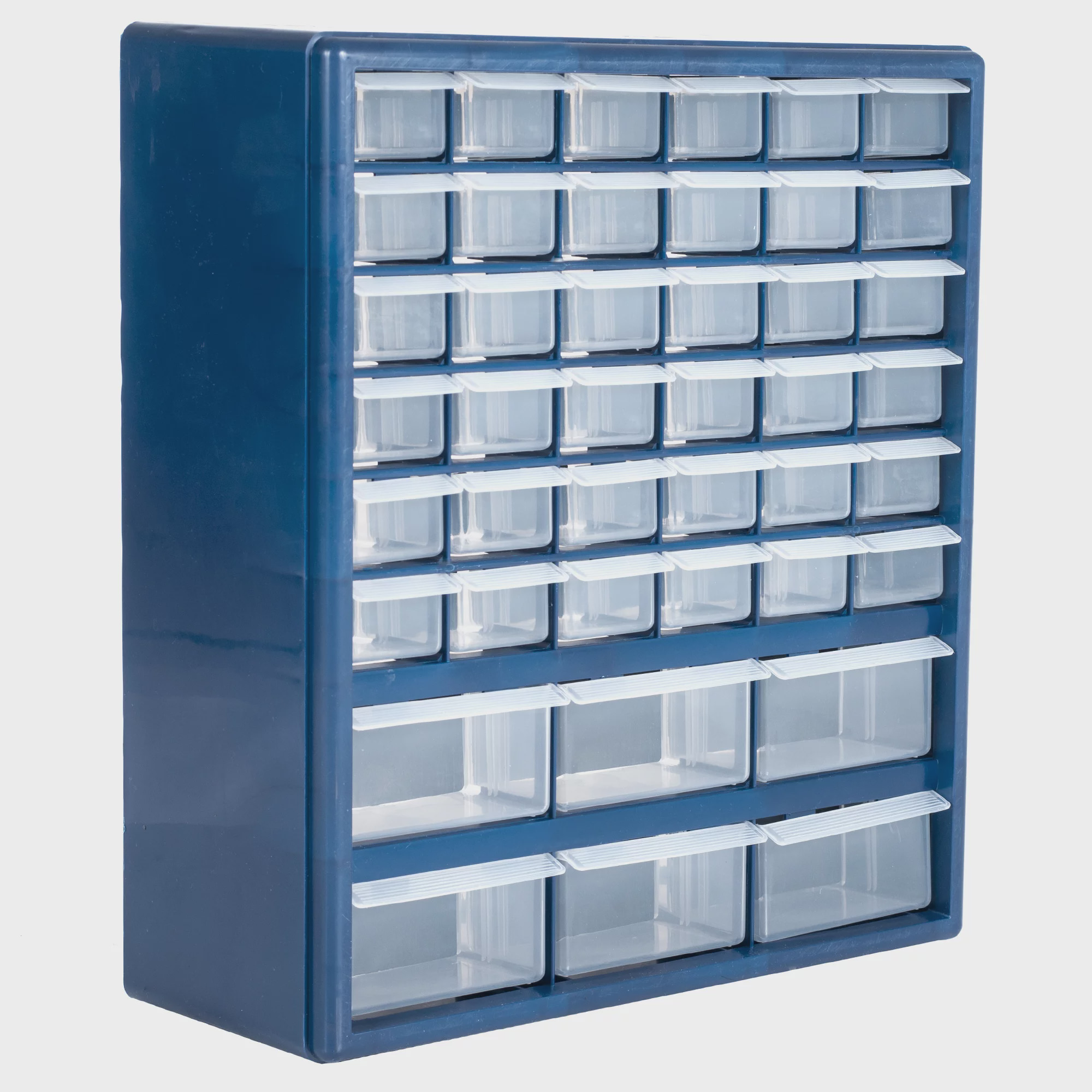Stalwart Deluxe 42 Drawer Compartment Storage Tool Box Walmartcom
