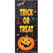 Pumpkin Pals Halloween Door Poster