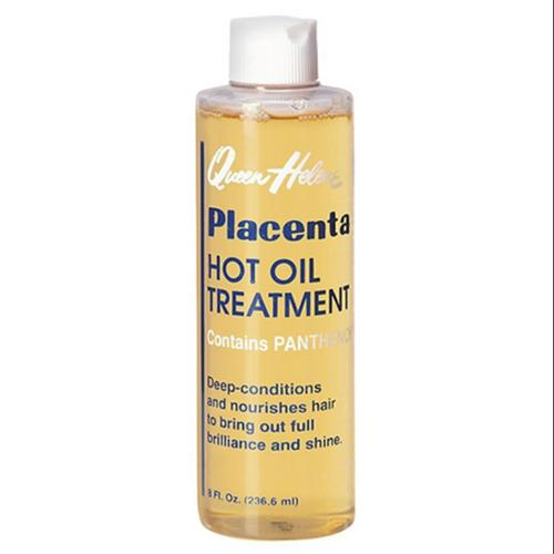 QUEEN HELENE Placenta Hot Oil Treatment, 8 oz (Pack of 3)