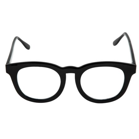 BCG Black Frame Costume Glasses Adult One (Black Bcg's Glasses)
