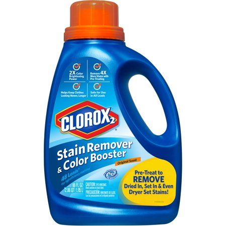 Clorox 2 Laundry Stain Remover and Color Booster, Original, 66 ...