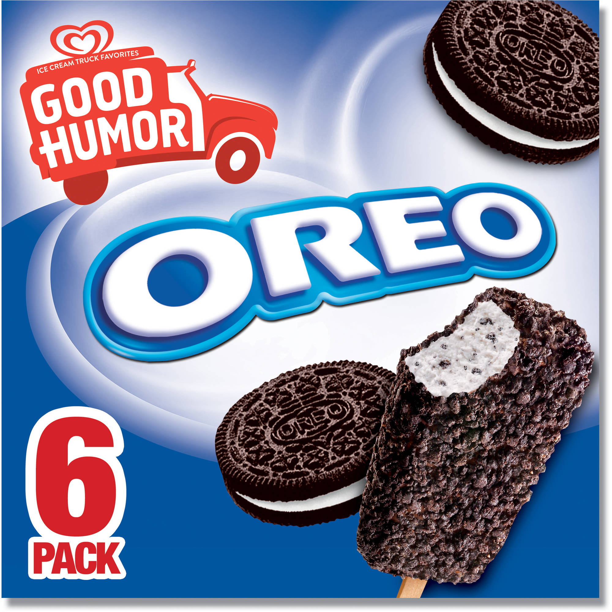 Good Humor is a brand of ice cream novelties sold from ice cream trucks as well as stores and other retail outlets. Originally, Good Humors were chocolate-coated ice cream bars on a stick, but the line was expanded over the years to include a wide range of novelties.