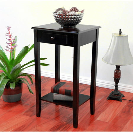 Home craft end table night stand with drawer in multiple for Multi night stand