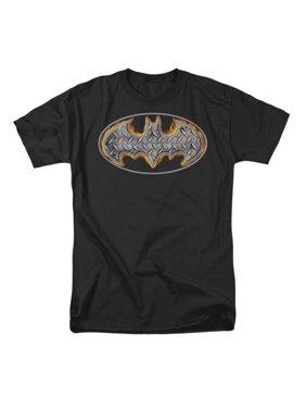 9727b4735bb47 Product Image Batman Men s Steel Fire Shield T-shirt Black