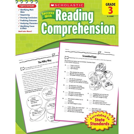 Halloween Reading Comprehension Grade 3 (Scholastic Success with Reading Comprehension, Grade 3)