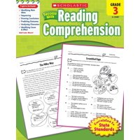 Scholastic Success with Reading Comprehension, Grade 3 (Paperback)