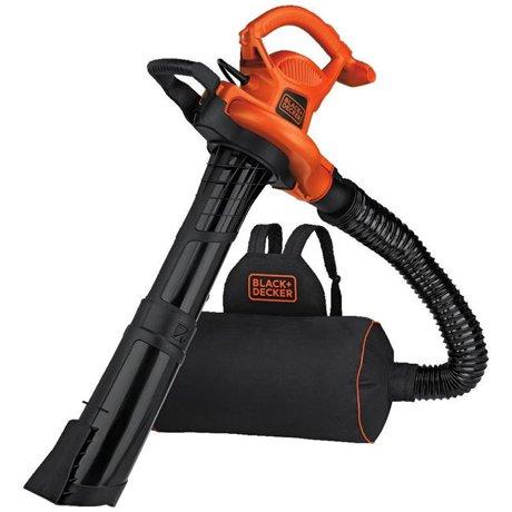 Black Amp Decker 232321 Backpack Leaf Blower Vacuum Amp Mulcher