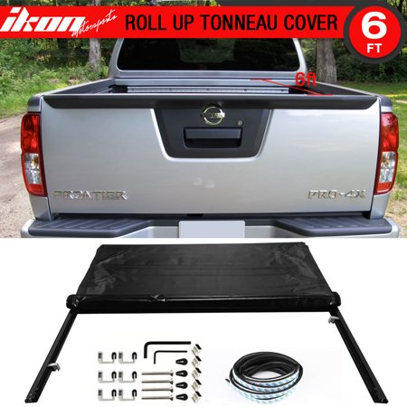 - Fits 05-16 Frontier 6 feet / 72 inch Bed Lock Soft Roll Up Tonneau Cover