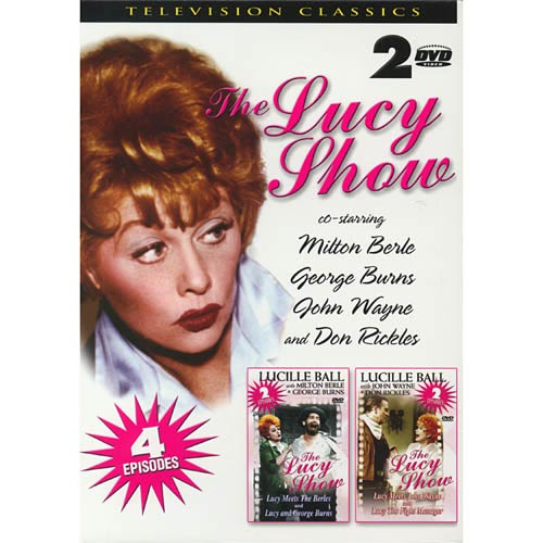 I Love Lucy TV Show DVD Box Set - (4 Episodes)