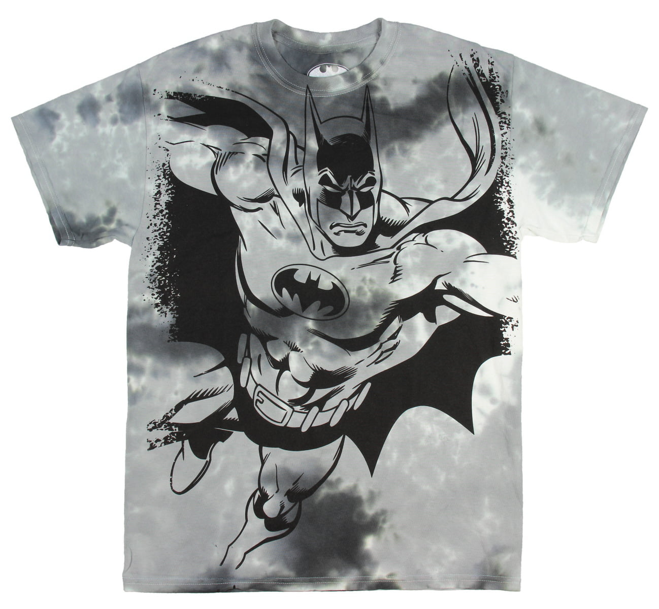 DC Comics Batman Comic Superhero Tie Dye Mens T-Shirt by Batman