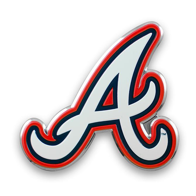 MLB Atlanta Braves Color Emblem