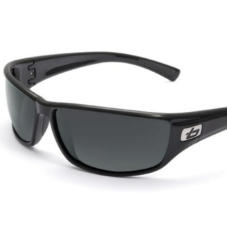 Bolle Edge - Bolle Python Sunglasses, Shiny, Black/Polarized, TNS 11328