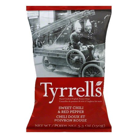 Tyrrell's Sweet Chili & Red Pepper Potato Chips, 5.3 oz