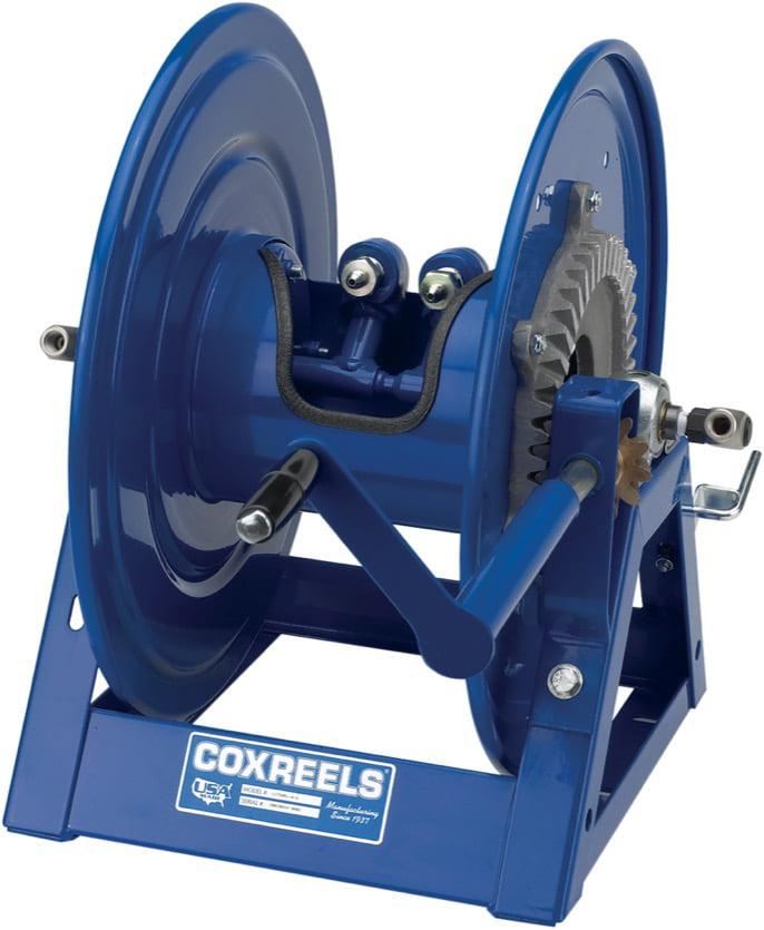COXREELS 1275HPL-C-12 Dual Hydraulic Rim Hose Reel 1 4inx200ft 1 4in BSP Female by Coxreels