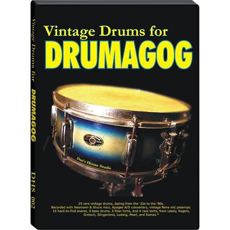Wave Machine Labs Dan's House Vintage Drums Collection - Sample Library -  Walmart com