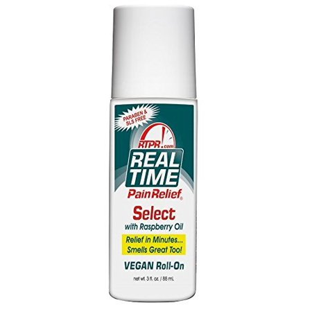 Real Time Pain Relief Select Vegan Roll On 3oz