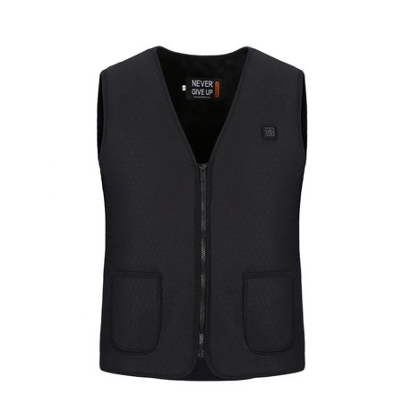 WALFRONT Men/Women Warmer Safe Built-in Electric Plate Heating Heated Vest - image 6 of 6