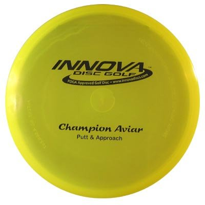 Champion Aviar, Best Choice for: Go to putter, Short to medium drives, Accuracy approaches By