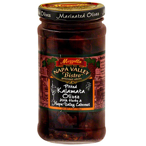 Mezzetta Pitted Kalamata Olives, 12 Oz (