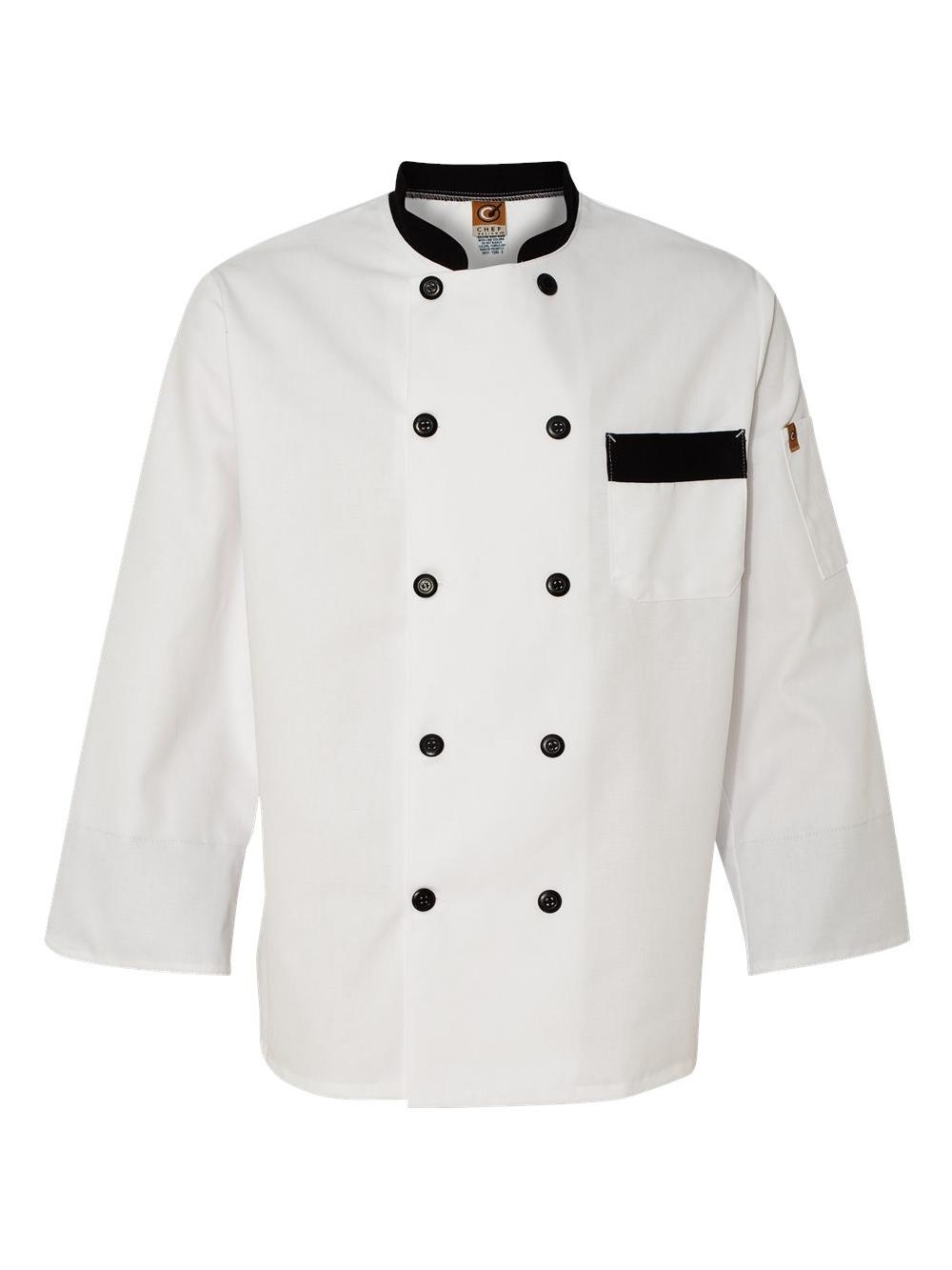 Men's Garnish Chef Coat
