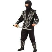 Fun World Ninja Fighter Child Halloween Costume