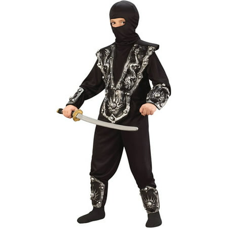 Fun World Ninja Fighter Child Halloween Costume (Fun Halloween Costumes Homemade)