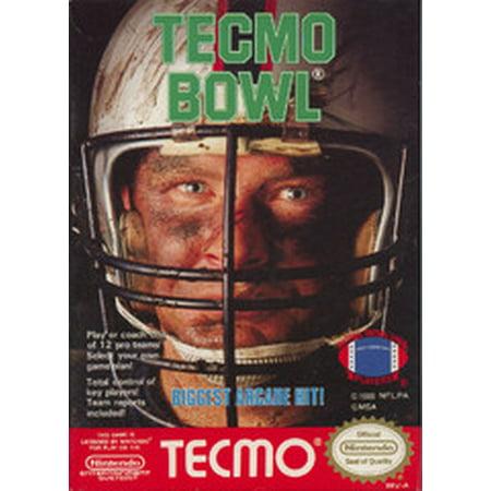 Tecmo Bowl - Nintendo NES (Refurbished) Back To The Future Nes Game