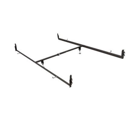 change your full to queen bed frame rail conversion rails bed frame. Black Bedroom Furniture Sets. Home Design Ideas