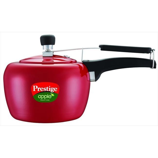 Prestige PRA5R Apple Aluminum Red Color Pressure Cooker - 5 Litres