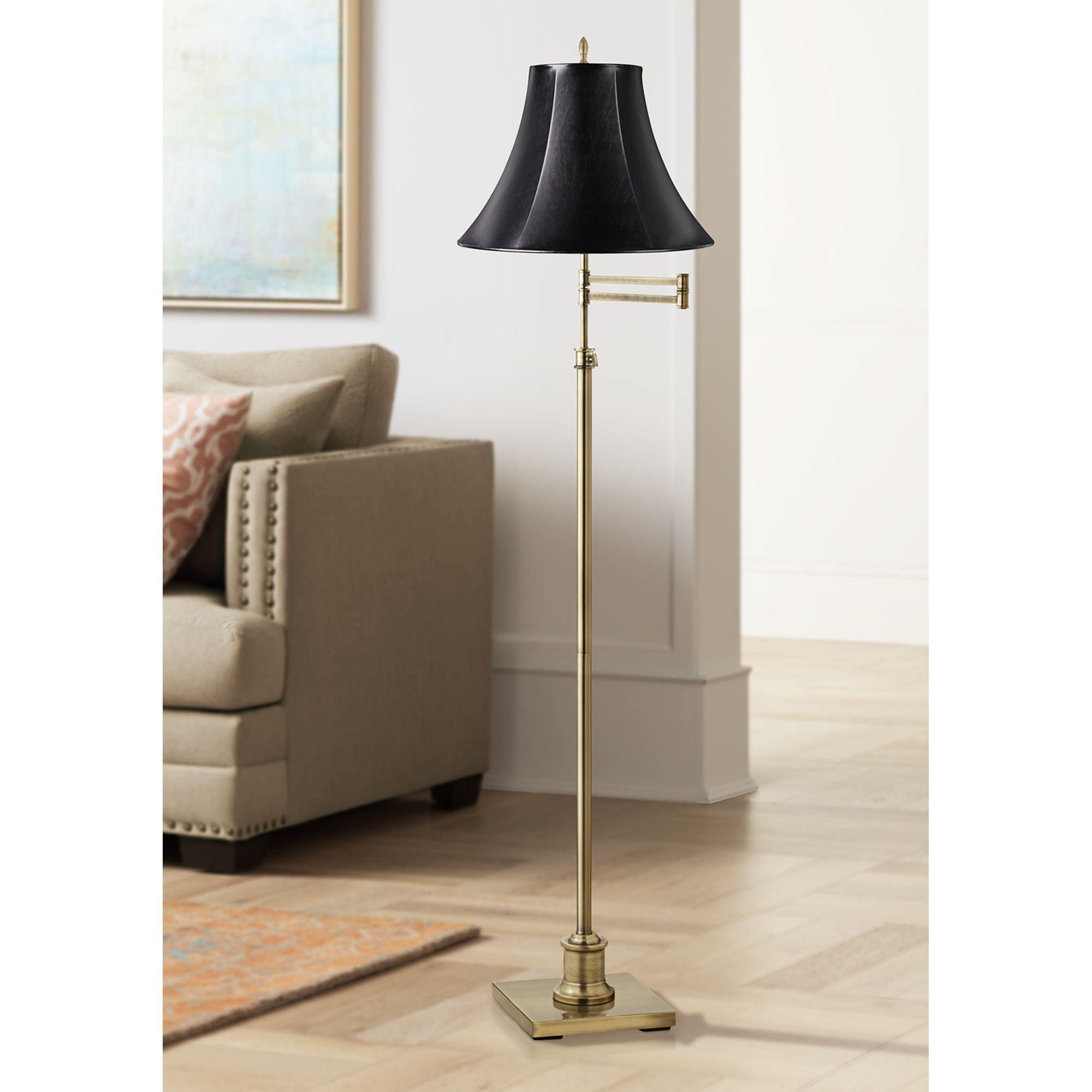 360 Lighting Traditional Swing Arm Floor Lamp Adjustable