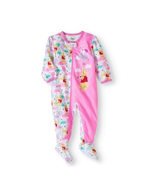 9f4ab39c1a2e Baby Girls One-piece Pajamas - Walmart.com