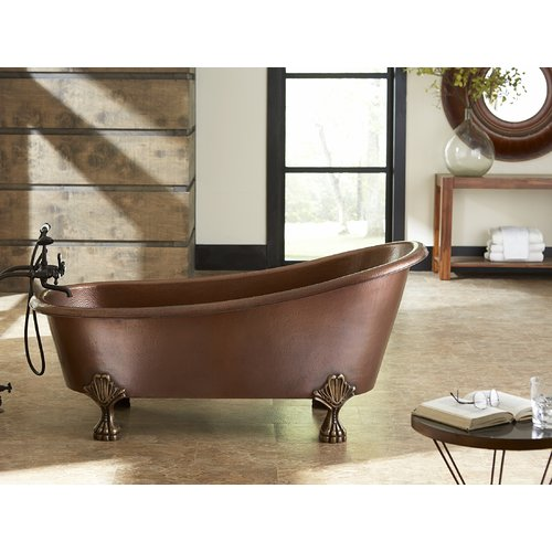 Sinkology Heisenberg 67.5'' x 32'' Soaking Bathtub