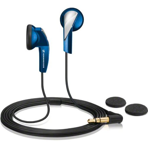 Sennheiser mx 365 portable ultralight earphones with earp...