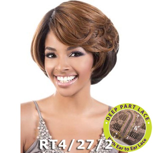 BeShe 4 Deep J-Part Lace Front Wig - LLDP-210 (RT4