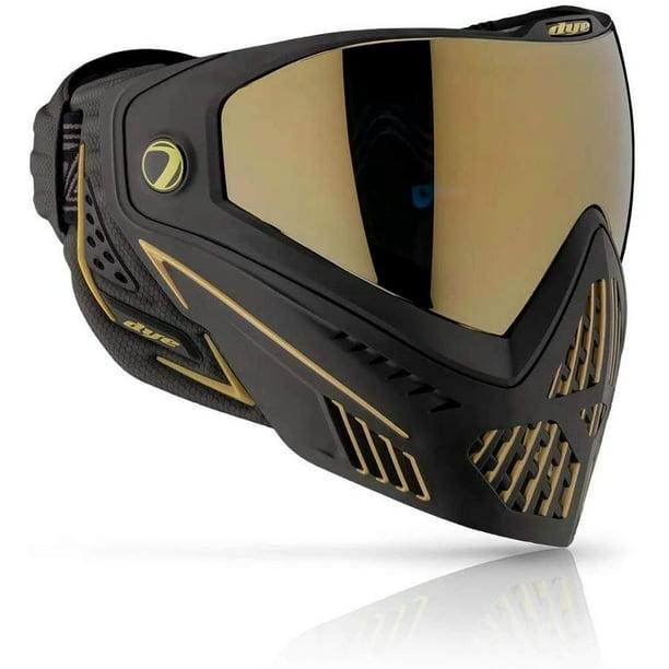 Dye I5 Paintball Goggle Mask Onyx Black Gold 2 0 Walmart Com Walmart Com