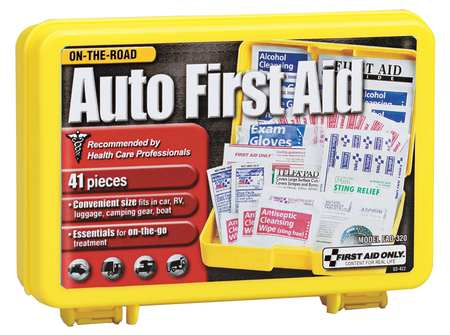 First Aid Only FAO-320 LAB Bulk First Aid kit, White by First Aid Only