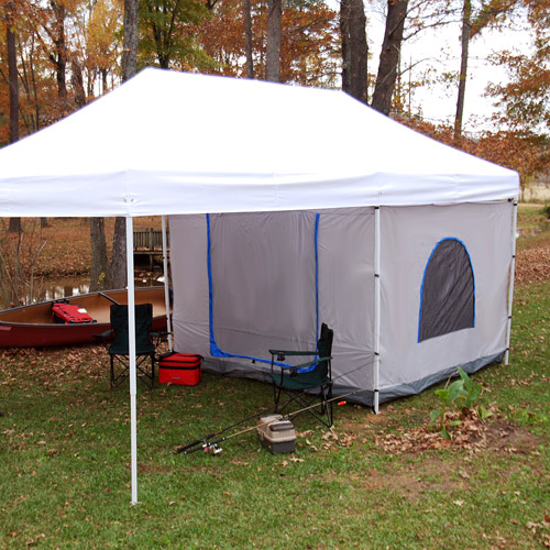 King Canopyu0027s Accessory Tent for Explorer Pop-up Canopy & King Canopyu0027s Accessory Tent for Explorer Pop-up Canopy - Walmart.com